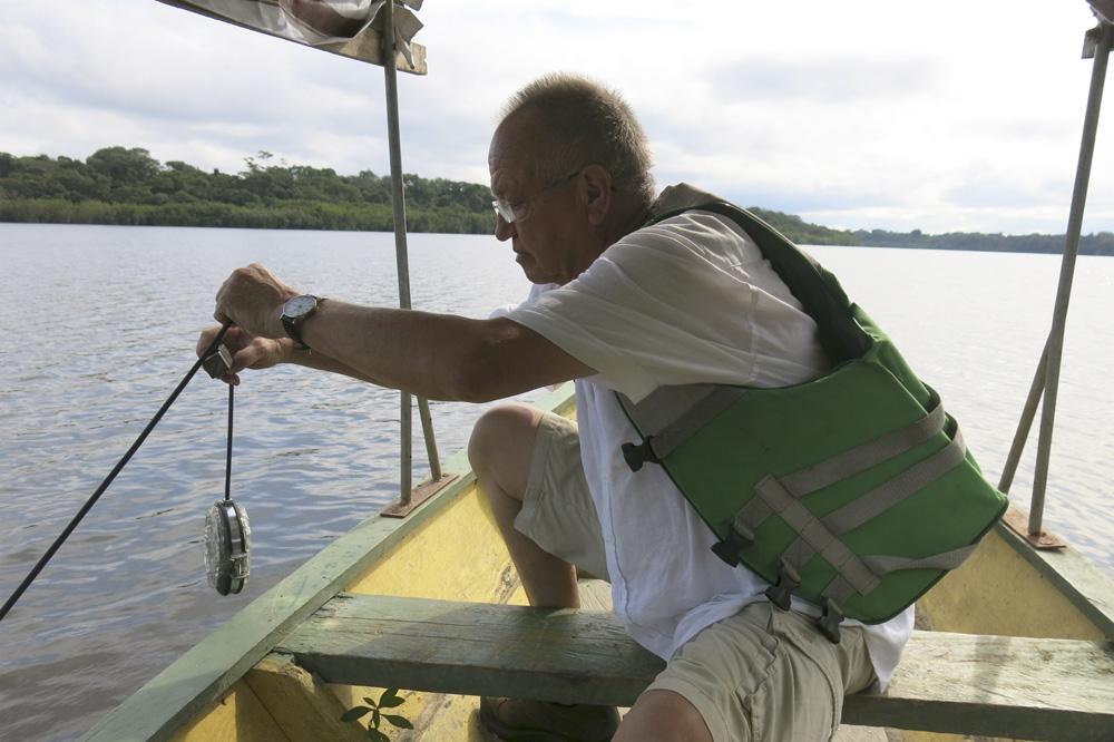 Klaus Osterwald – Unterwasser Tonaufnahmen, Bioakustik, Hydrofon, Amazonas