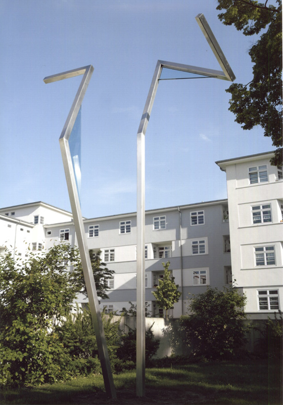 freie Plastik, Kunst im öffentlichen Raum, Blauer Hof, Köln