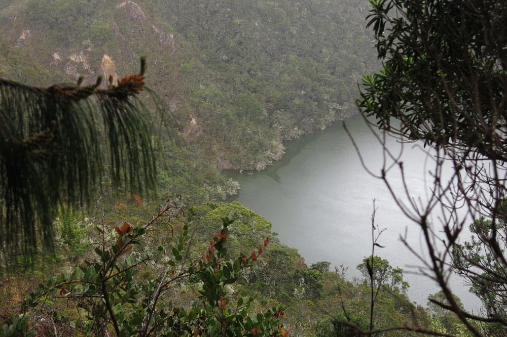 Klaus Osterwald – Laguna de Guatavita, Kolumbien, Unterwasser-Tonaufnahmen, Soundscapes