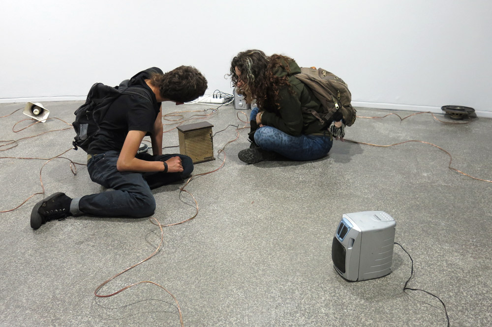 Klaus Osterwald – Museo de Arte Contemporaneo, Bogotá, Soundscapes