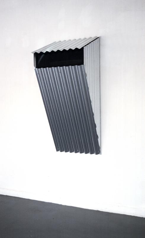 """freie Plastik, """"Shelters"""", Krings-Ernst Galerie Köln"""