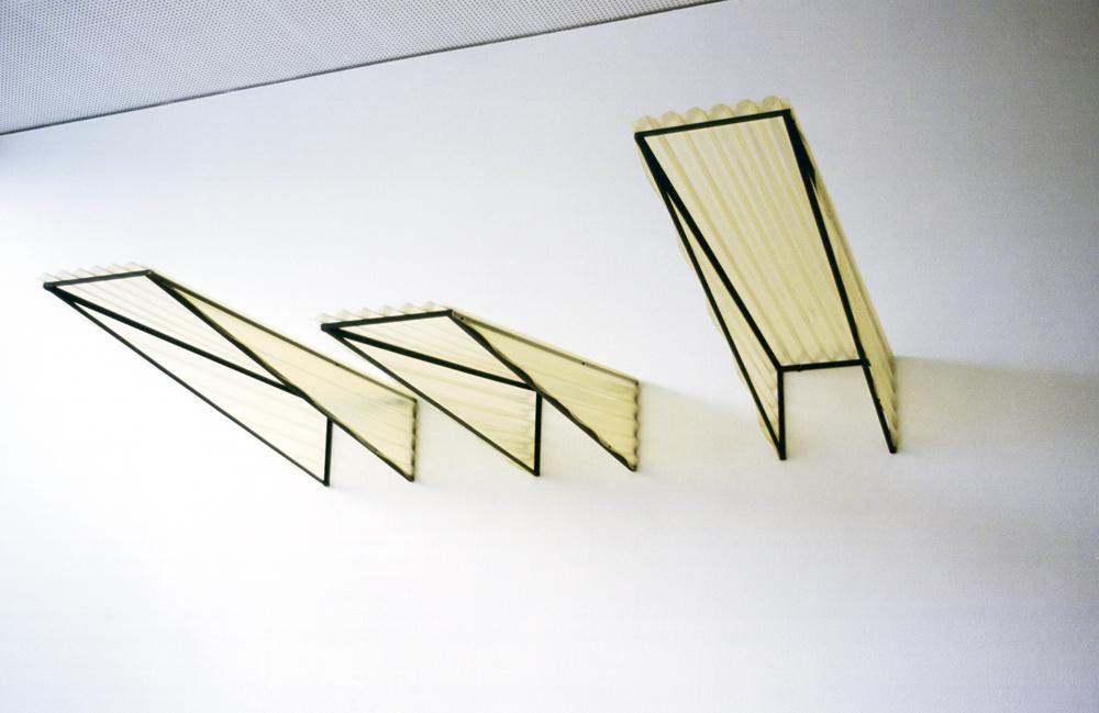 "freie Plastik, ""Shelters"", Museum Folkwang, Essen"