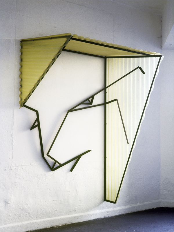 "freie Plastik, ""Shelters"", Sammlung Peter und Irene Ludwig, Aachen"