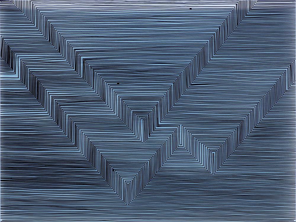 Klaus Osterwald – Arbeiten auf Plexiglas – works on plexi glass