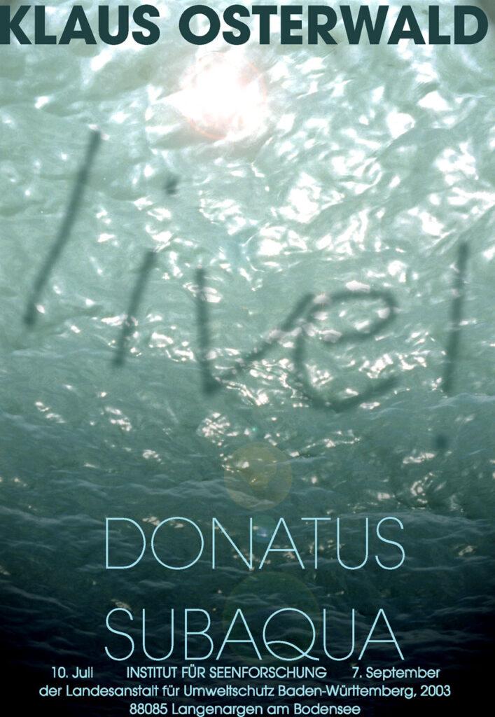 Klaus Osterwald Unterwasser-Tonaufnahmen IFS